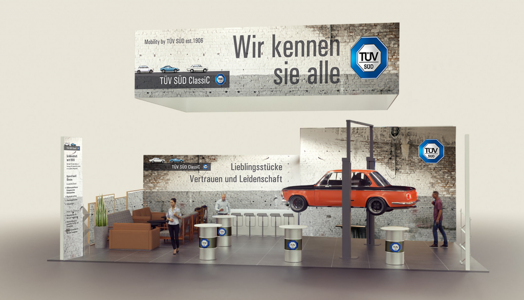Messestand-tuev-sued-Classic1 |creo-media GmbH Hannover