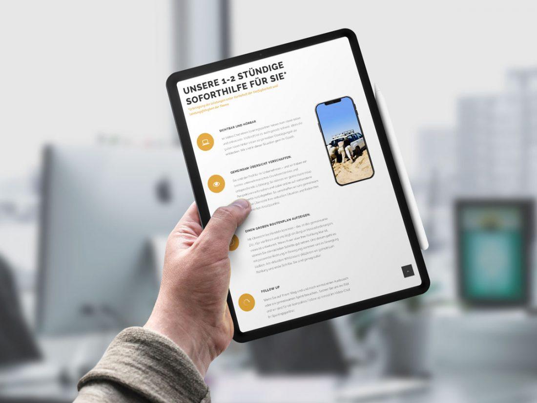 Gemeinsam Kraftvoll iPad | creo-media GmbH Hannover