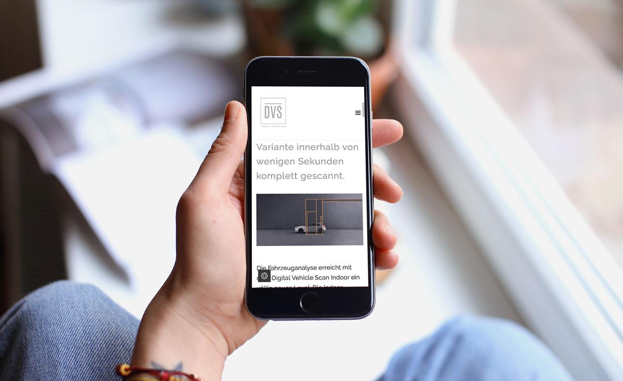 DVS_Website1 iPhone |creo-media GmbH Hannover