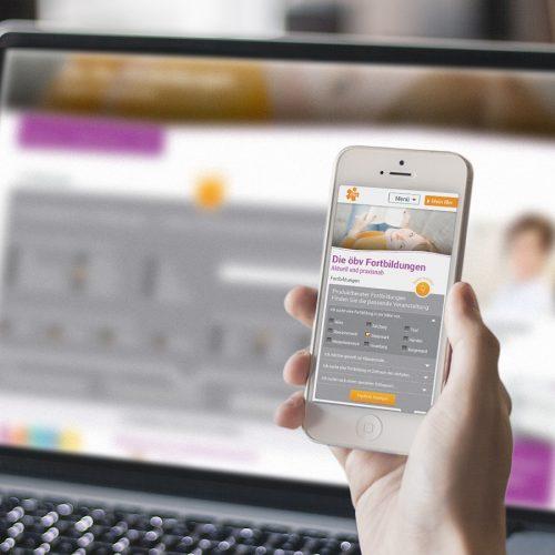 Website Konzept für ÖBV  creo-media GmbH Hannover