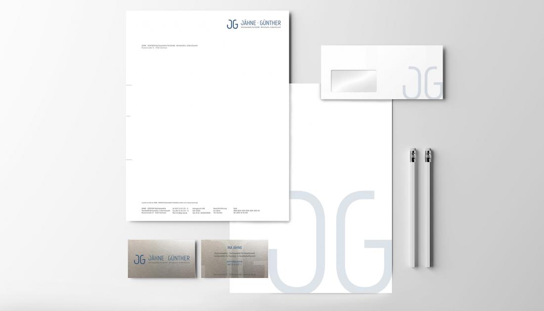 branding fuer jaehne guenther rechtsanwaelte |creo-media GmbH Hannover