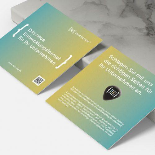 PortfolioMuto4 Visitenkarte werbemittel  creo-media GmbH Hannover