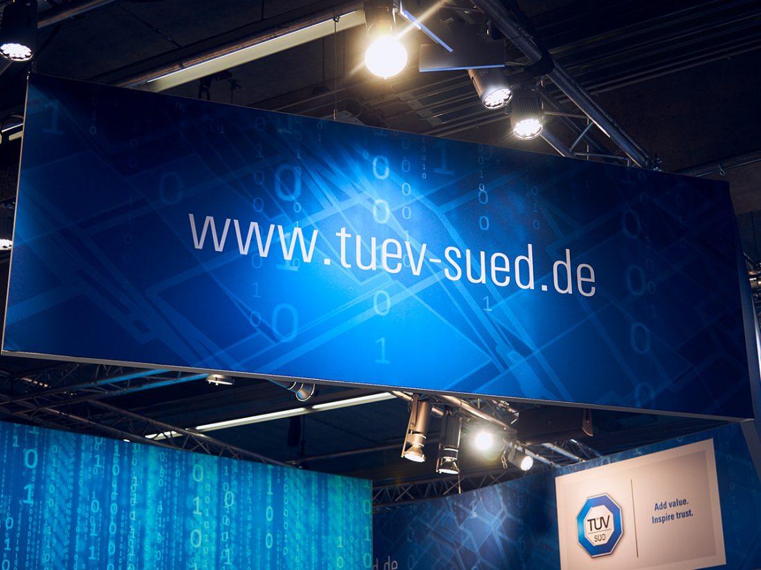 veranstaltungsdesign für tuev sued  creo-media GmbH Hannover