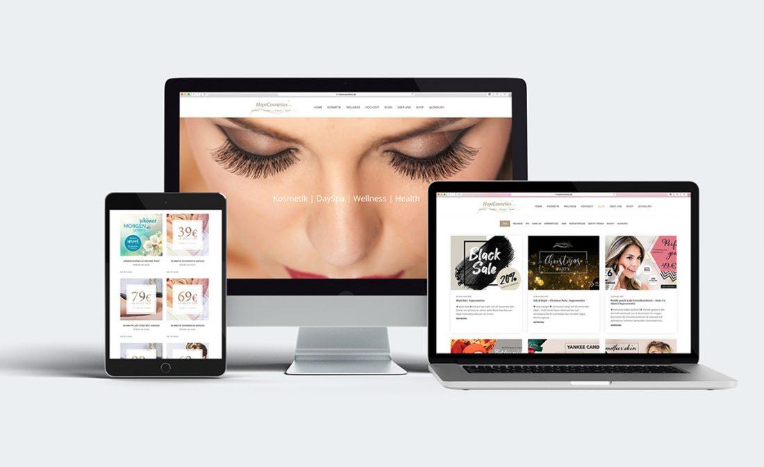 hope-website  creo-media GmbH Hannover