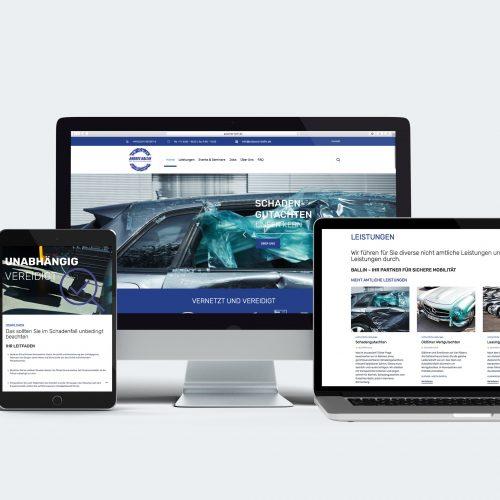 KFZ-Sachverständigenbüro Andree Ballin Website  creo-media GmbH Hannover