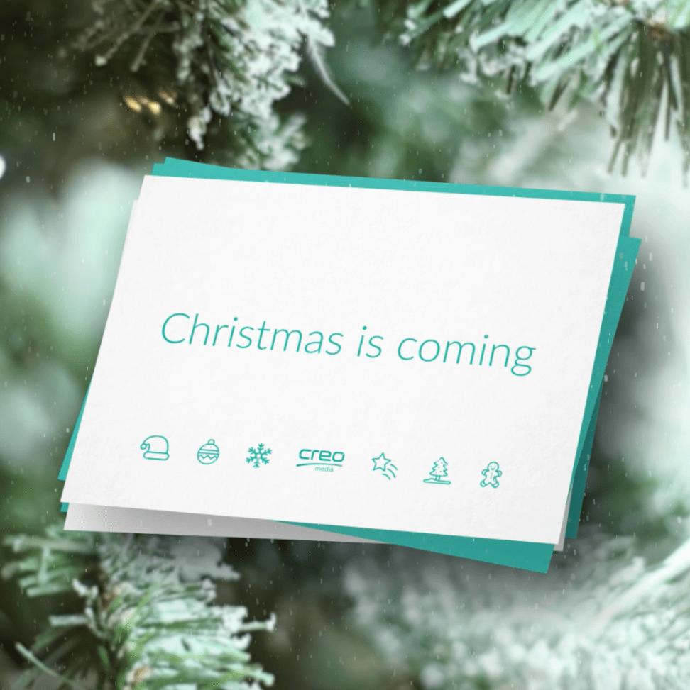 Weihnachtskarte bestellen kaufen |creo-media GmbH Hannover