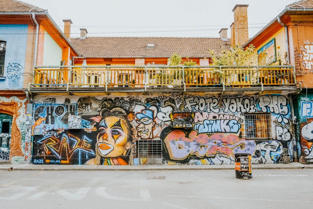 Ljubljana wand graffiti street art |creo-media GmbH Hannover