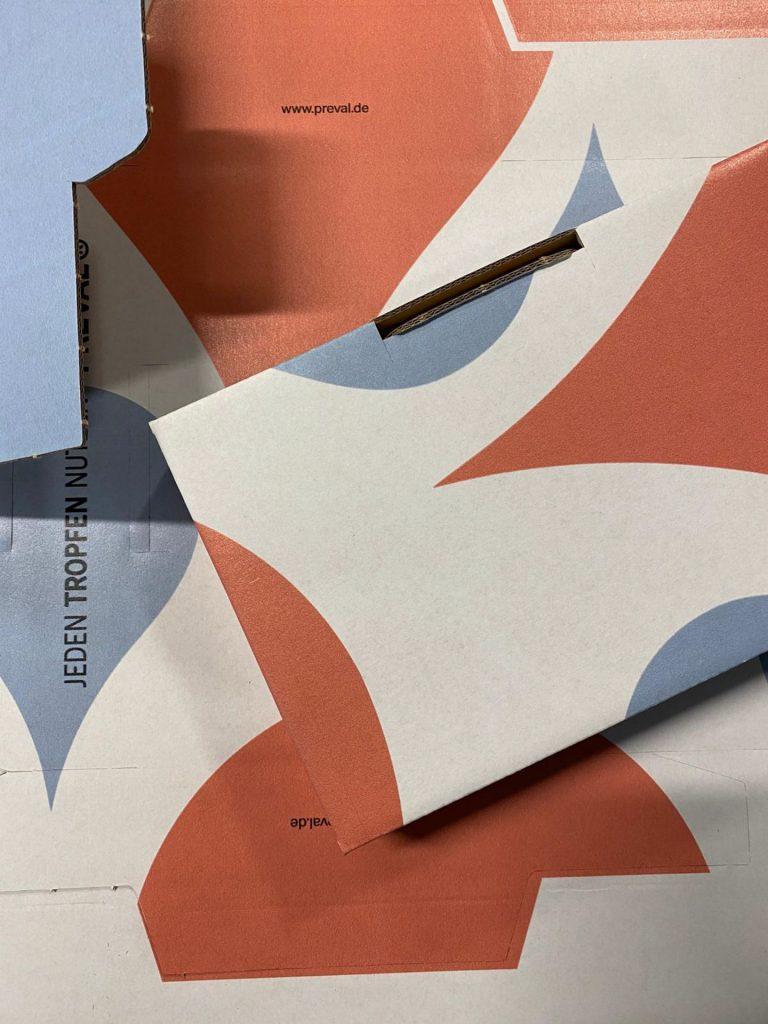 Versandverpackungen Preval 2 |creo-media GmbH Hannover