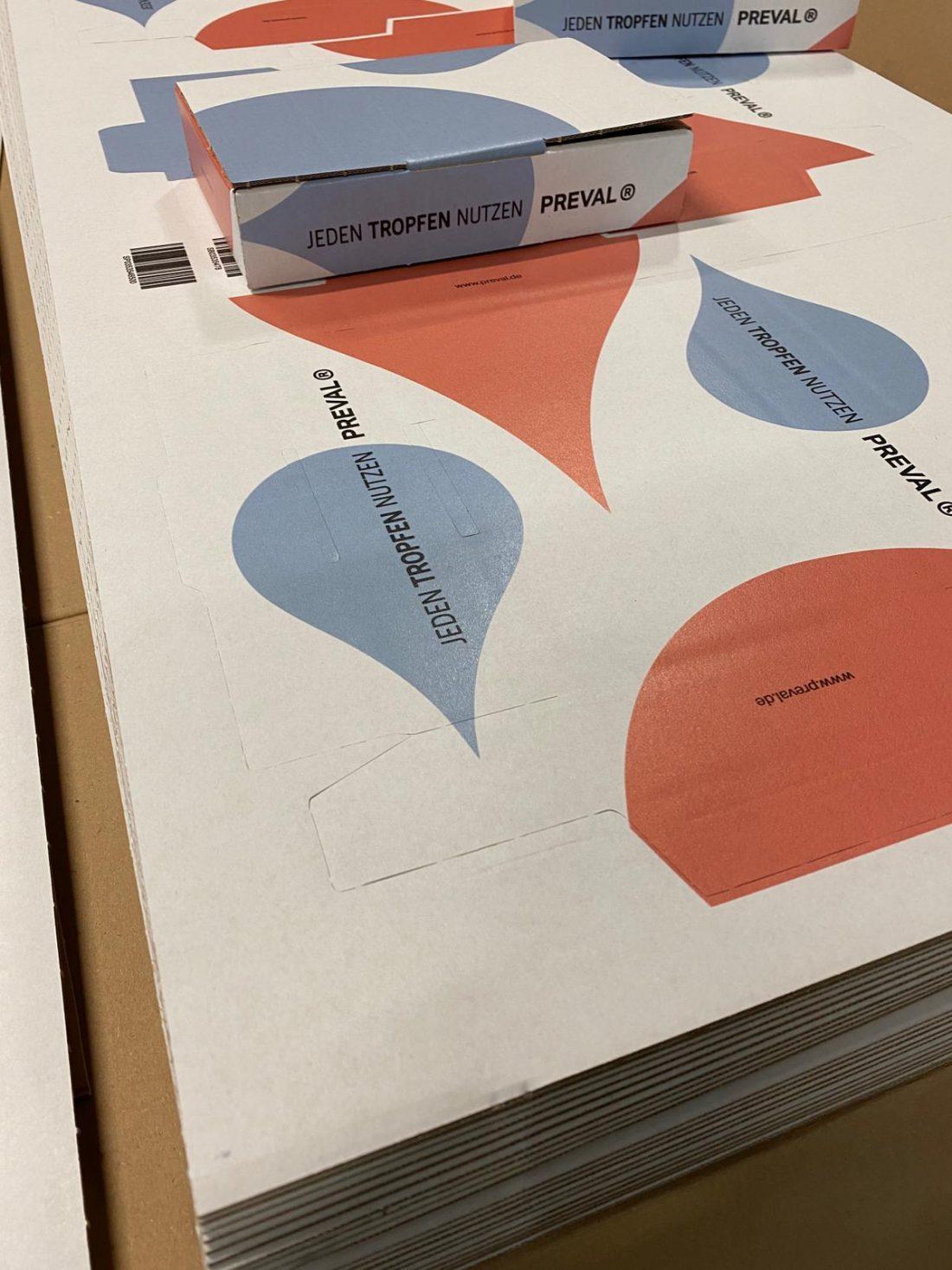 Versandverpackungen Preval 3  creo-media GmbH Hannover